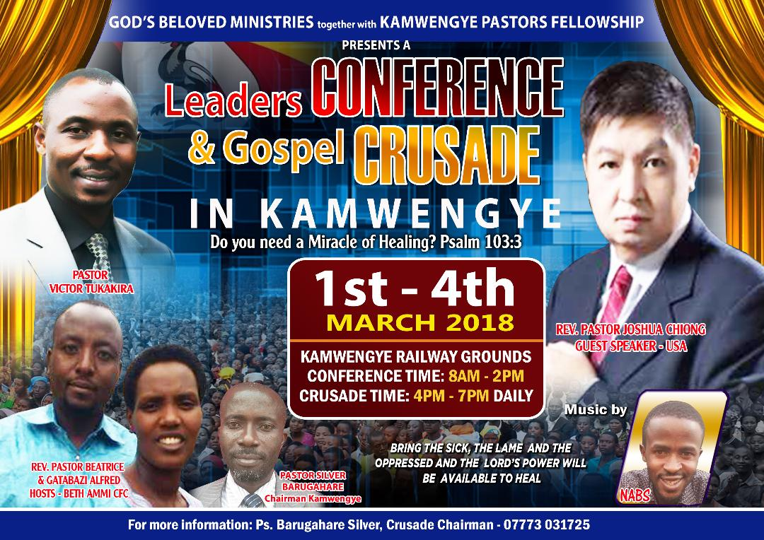 God's Beloved Ministries - Uganda Kamwenge March 2018